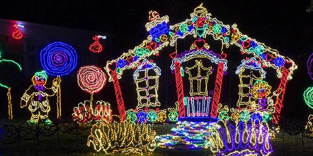 Rock City Christmas Lights 2020 Enchanted Garden of Lights   Rock City